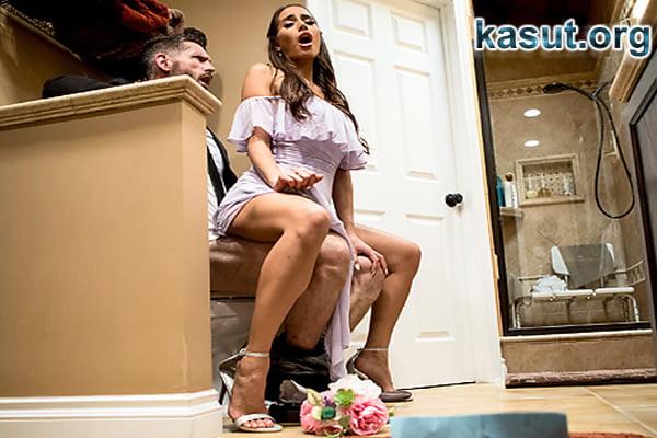 Düğünde Eski Aşkının Üstüne Oturarak Veda Etti