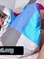 Yorganda Gizlenen Dulu Şişme Kadın Sanarak Pompaladı